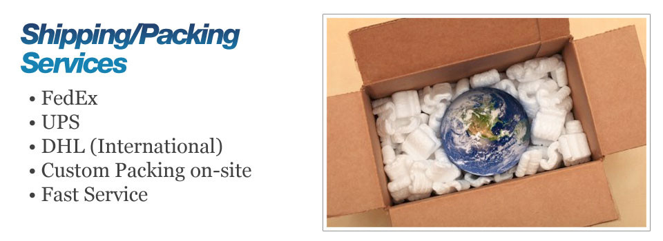 Shipping/Packing Services